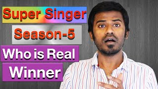 Vijay tv super singer season 5 final who is real winner