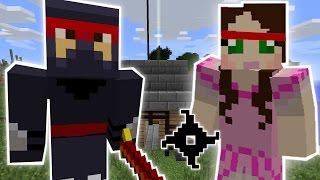 Minecraft: NINJA SCHOOL MISSION - Custom Mod Challenge [S8E5]