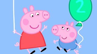 Peppa Pig en Español - ¡Cumpleaños de Georges! - Dibujos Animados