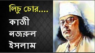 লিচু চোর - কাজী নজরুল ইসলাম | Lichu Chor-  Kazi Nazrul Islam | Bangla Kobita Somogro