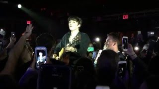 The Vamps - Shout About It - Brad in the Crowd (Marlin Room at Webster Hall 12/16/15 NYC) LIVE