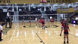 Volleyball - 2016 3A Semi State semifinal - New Pal vs Northview 10 19 16