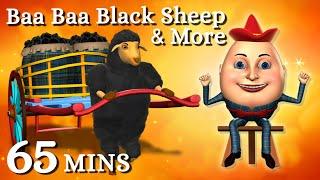 Baa Baa Black Sheep | Humpty Dumpty Kids Songs & More 3D English Nursery Rhymes For Children