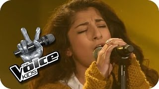 Pixie Lott -  Cry Me Out (Renaz) | The Voice Kids 2014 | Blind Auditions | SAT.1