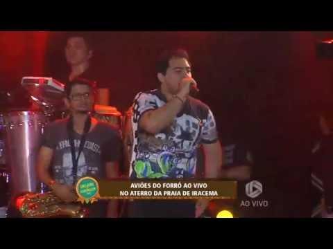 Aviões no São João de Fortaleza 2015 ao vivo Tv Diário parte 01