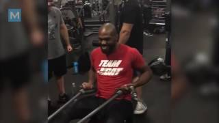Jon Jones Training for Daniel Cormier Part 4   Muscle Madness