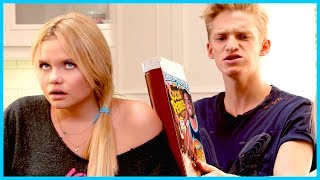 Cody Simpson SMASHES Alli Simpson in Battle for Breakfast!