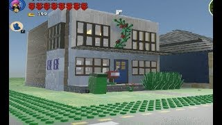 lego worlds small white house with download  link