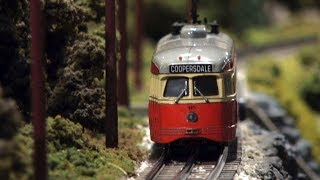 The Choo Choo Barn Model Train Layout in Strasburg Pennsylvania