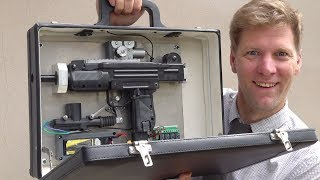 Homemade Machine Gun Briefcase from The Kingsman
