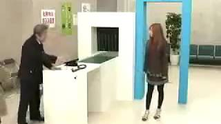 Security Checking on Girl & Taking Advantage  : Funny Video
