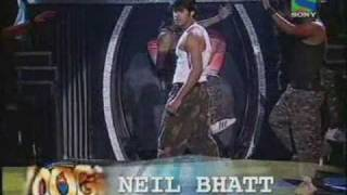neil bhatt performing on ''ride it'' in boogie woogie as a special celebrity guest...........