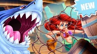 Disney Princess Cartoon - Princess Ariel Accident injury - Baby Video Games