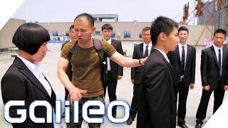 Bodyguard-Ausbildung für Frauen in China | Galileo | ProSieben