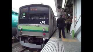 205系横浜線 桜木町行八王子駅発車(HM付)