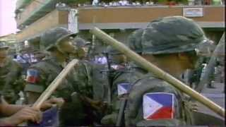 The Mendiola Massacre 1986,  Farmers Rally  by Dumbar  (WTN News)