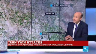 Iran: Twin Attacks ongoing in Parliament, Mausoleum of Ruhollah Khomeini in Tehran, hostages taken