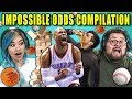 Adults React To Impossible Odds Compilation (Never Tell Me The Odds)