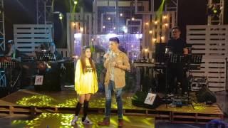 Andrea Brillantes and Kyline Alcantara join Darren Espanto onstage