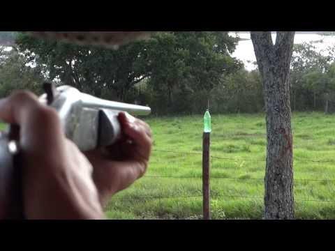 Tiro com espingarda calibre 36 Cartucho SG4