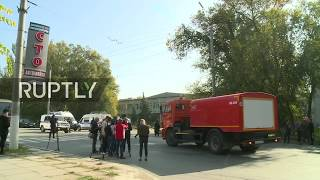 Live view of Kerch college day after deadly attack