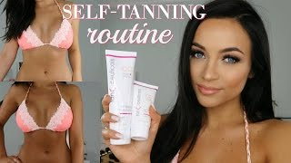My Self Tanning Routine [+giveaway] | Stephanie Ledda