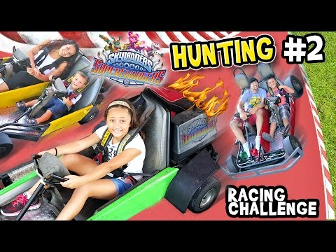 Skylanders SuperChargers Hunting RACING CHALLENGE Where to Next Day 1 Variants Adventure Pt. 2