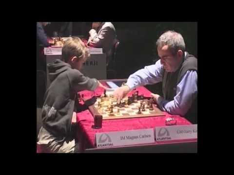 Magnus Carlsen Vs. Kasparov