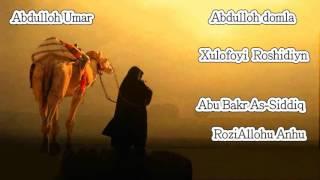 Abdulloh domla - Abu bakr as siddiq - 1