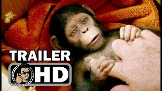 """WAR FOR THE PLANET OF THE APES """"Legacy"""" Official Trailer (2017) Andy Serkis Sci-Fi Movie HD"""
