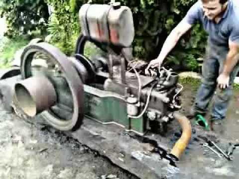Motor antigo Samson