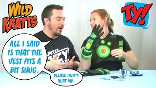 Wicked Cool Toys Wild Kratts Creature Power Suit, Creaturepod Projector and Swimmers Set