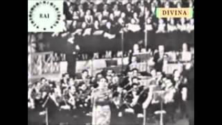 Maria Callas (live) Vincenzo Bellini, Casta Diva, Norma synchron