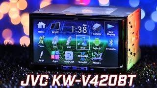 JVC KW-V420BT Stereo - Demo & Review 2016