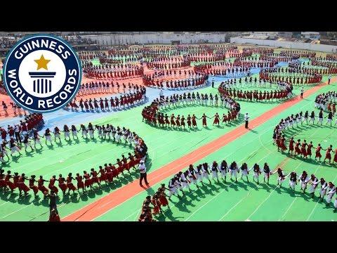 Xxx Mp4 Largest Karma Naach Dance Guinness World Records 3gp Sex