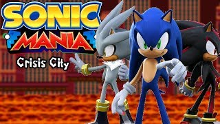 Sonic Mania Mods | Crisis City & Team 06!