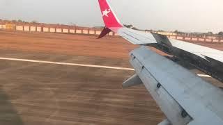 Beautiful landing at Mangalore International Airport