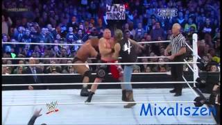 WWE Triple H Vs Brock Lesnar - HD Highlights Wrestlemania 29