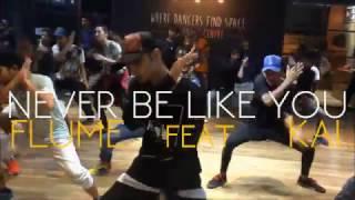 FLUME - Never Be Like You (feat. KAI) | Mohit Solanki Choreography