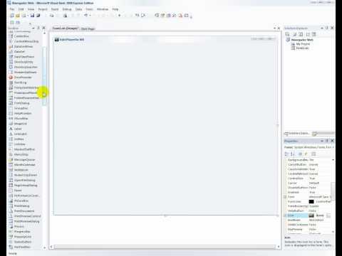 Como Crear un Navegador Web en VB 2008 1 2