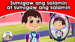 Sumigaw ang salamin at sumigaw ang salamin - Kwentong Pambata - Mga kwentong pambata tagalog