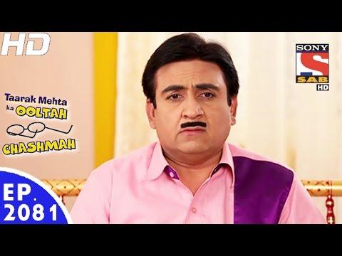 Taarak Mehta Ka Ooltah Chashmah - तारक मेहता - Episode 2081 - 28th November, 2016