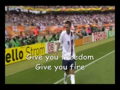 Download Official World Cup 2010 Song Wavin' Flag (The Celebration Remix) with Lyrics free
