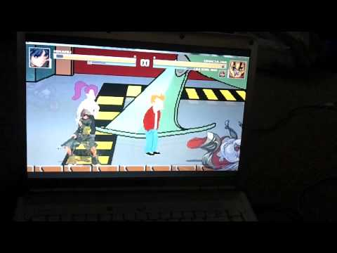 Mugen Hikaru vs. Draculina & Old School Mario