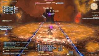 Final Fantasy XIV: Titan Fight [The Navel first time run]