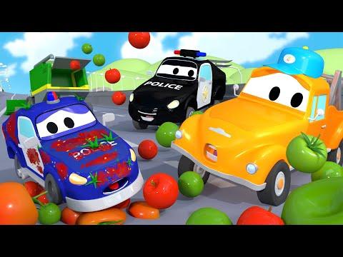 Bebé Matt está sucio - El lavado de Autos de Tom La Grúa 🛀 Dibujos animados para niñas y niños