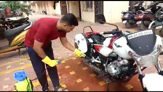 How to make portable bike Washer