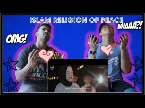 COLLEGE AMERICAN REACTS TO DEEN ASSALAM - Cover by SABYAN REACTION! (THOUGHTS AND REVIEW!)