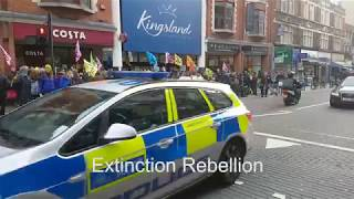 Extinction Rebellion - London: Saturday Street Party Hackney