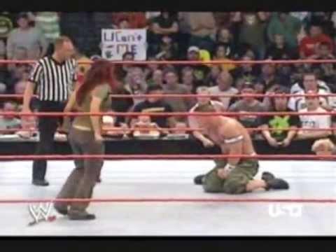 WWE Cena vs Lita